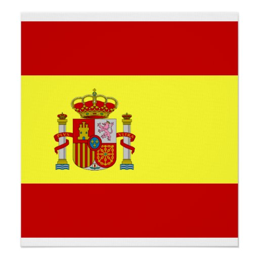 Spain High quality Flag Poster