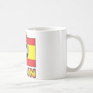 Spain King Of Football Coffee Mug