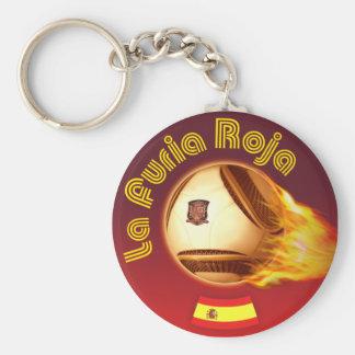 Spain La Furia Roja 2 Key Chains