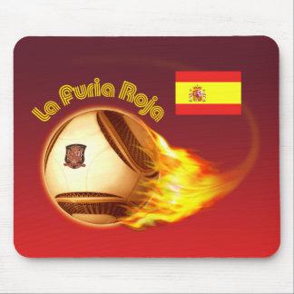 Spain La Furia Roja 2 Mouse Pad