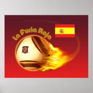Spain La Furia Roja 2 Poster