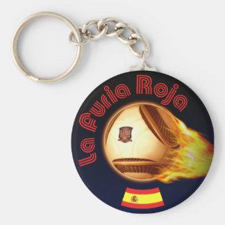 Spain La Furia Roja Key Chains