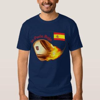 Spain La Furia Roja T Shirt