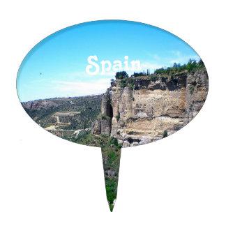 Spain Landscape Cake Topper