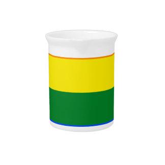 Spain LGBT Flag Map Drink Pitcher
