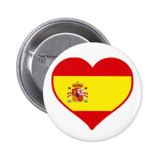 Spain Love 2 Inch Round Button