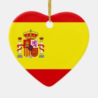 Spain Love Ceramic Ornament