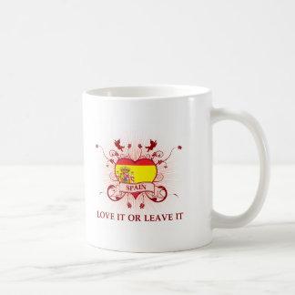Spain Love It Or Leave It Coffee Mug