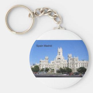 Spain, Madrid City Hall Plaza de Cibeles (St.K) Keychain