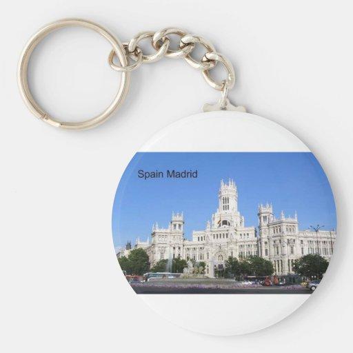 Spain, Madrid City Hall Plaza de Cibeles (St.K) Key Chains