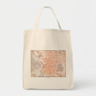 Spain: Madrid Map, C1920 Tote Bag