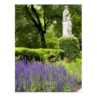 Spain, Madrid. Royal Botanic Garden aka Real Postcard