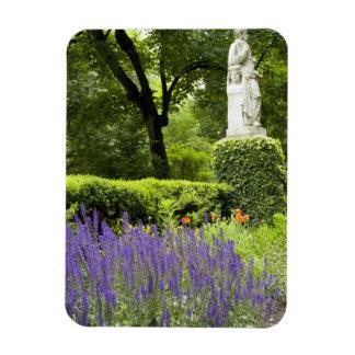 Spain, Madrid. Royal Botanic Garden aka Real Rectangular Photo Magnet