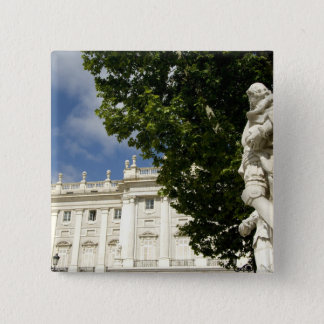 Spain, Madrid. Royal Palace. Button