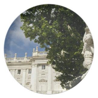 Spain, Madrid. Royal Palace. Melamine Plate