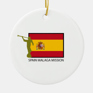 SPAIN MALAGA MISSION LDS CTR CERAMIC ORNAMENT