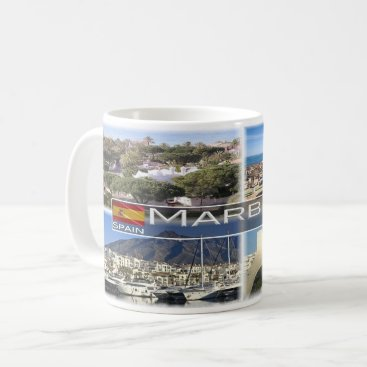 Beach Themed Spain - Marbella - Coffee Mug