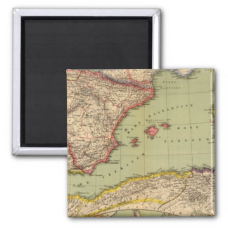 Spain, Mauritania and Africa Magnet