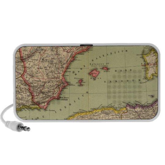 Spain, Mauritania and Africa Portable Speaker
