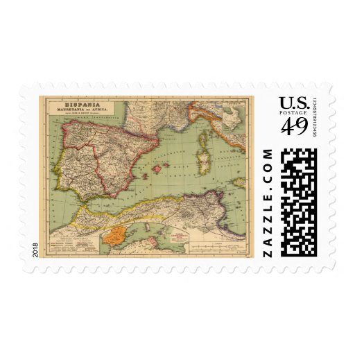 Spain, Mauritania and Africa Stamp