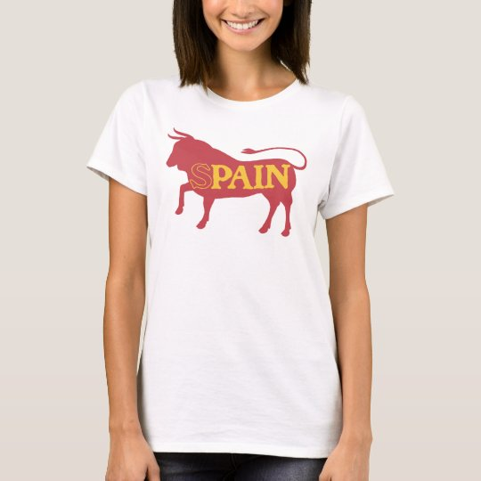 Spain means Pain Futbol Tee