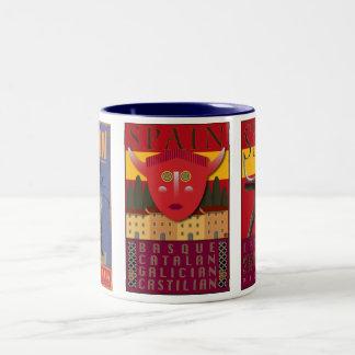 Spain-Mug Two-Tone Coffee Mug