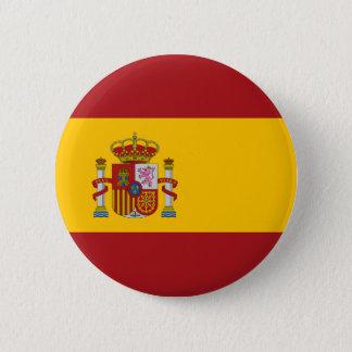 Spain National Flag Button