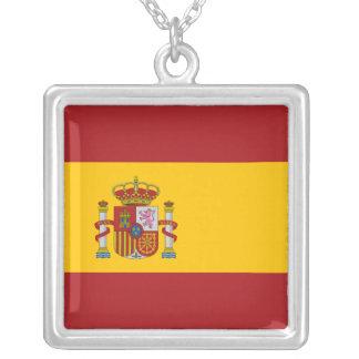 Spain National Flag Necklace