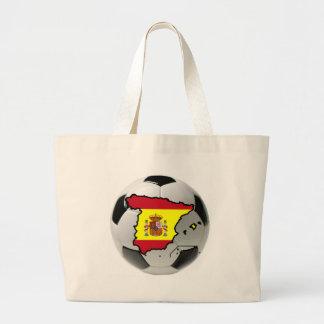 Spain national team tote bags