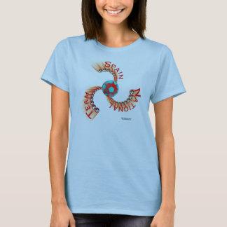 Spain National Team Ladies Babydoll T-Shirt