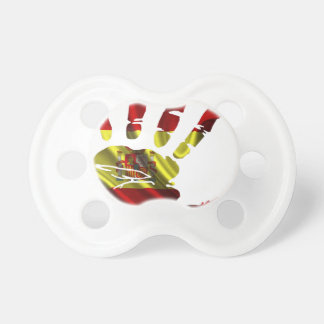 SPAIN NICE FLAG HAND PRODUCTS BABY PACIFIERS