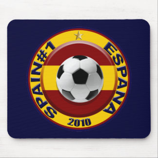 Spain number 1 2010 Soccer Gift Mouse Pad