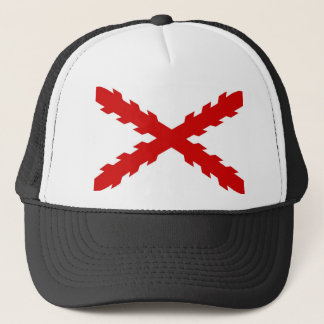 spain old flag new spanish indies conquistador trucker hat