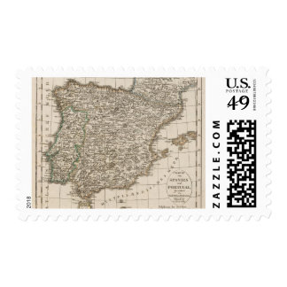 Spain, Portugal 4 Stamps