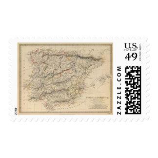 Spain & Portugal Postage