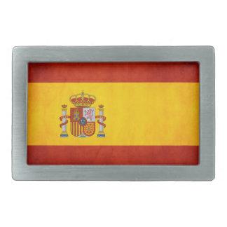 Spain Pride Oval Belt Buckles
