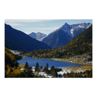 Spain Pyrenees poster