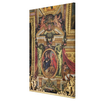 Spain Recognising the Pre-Eminence of France Canvas Print