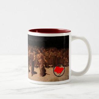 Spain Republic Republica working class Two-Tone Coffee Mug
