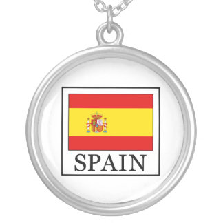 Spain Round Pendant Necklace