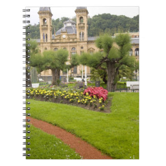 Spain, San Sebastian. Popular seaside resort, Notebook