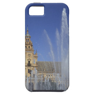 Spain, Sevilla, Andalucia Fountain and ornate iPhone SE/5/5s Case