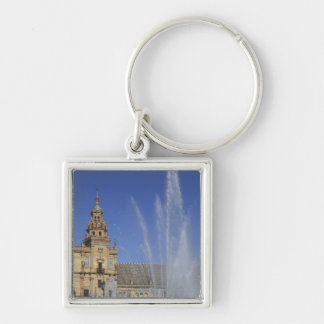 Spain, Sevilla, Andalucia Fountain and ornate Keychain