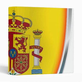 Spain Shield 3 Ring Binder