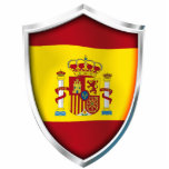 Spain Shield Acrylic Cut Outs