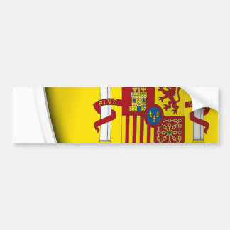 Spain Shield Bumper Sticker