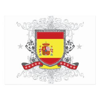 Spain Shield Postcard