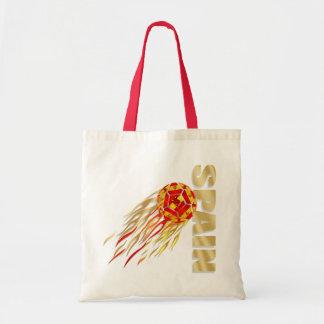 Spain silky fireball España La Furia Roja gifts Canvas Bag