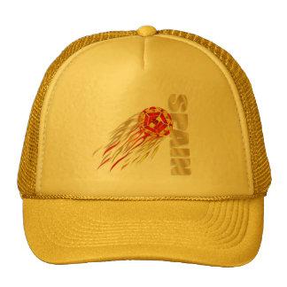 Spain silky fireball España La Furia Roja gifts Mesh Hats