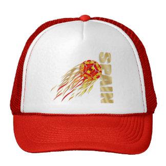 Spain silky fireball España La Furia Roja gifts Hats